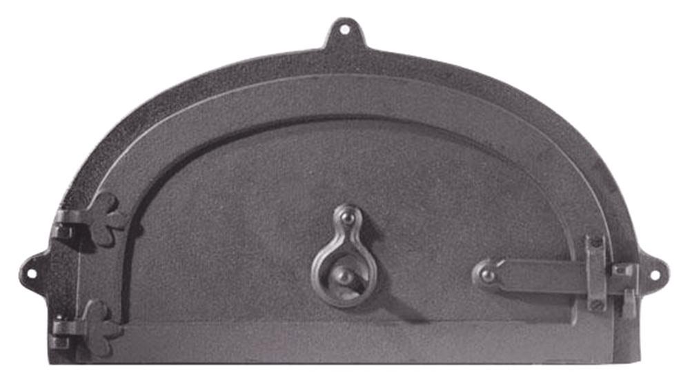 Porta per forno con 1 anta e occhiello provenza tom press for Sportello per forno a legna