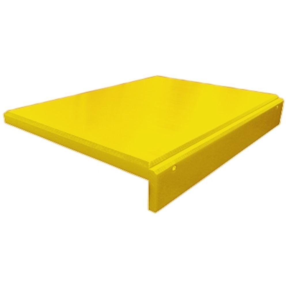 tagliere giallo in polietilene con bordo tom press. Black Bedroom Furniture Sets. Home Design Ideas