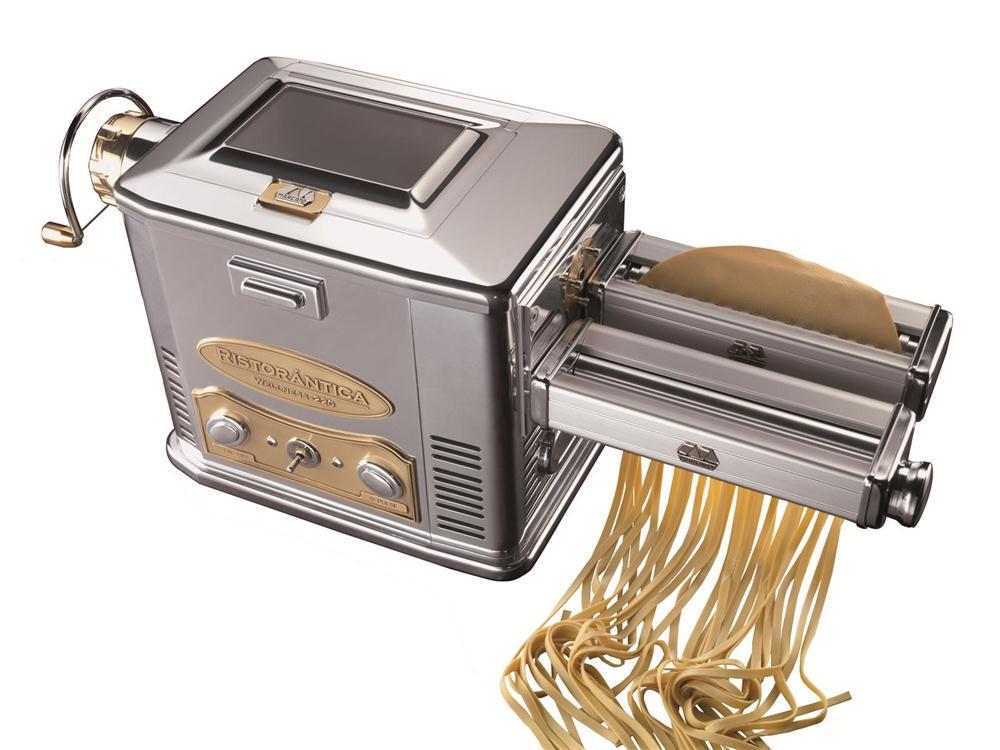 Macchina professionale elettrica per pasta marcato tom press - Macchina per pasta fresca in casa ...