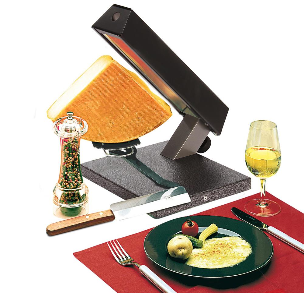 raclette per 1 4 di formaggio tom press. Black Bedroom Furniture Sets. Home Design Ideas