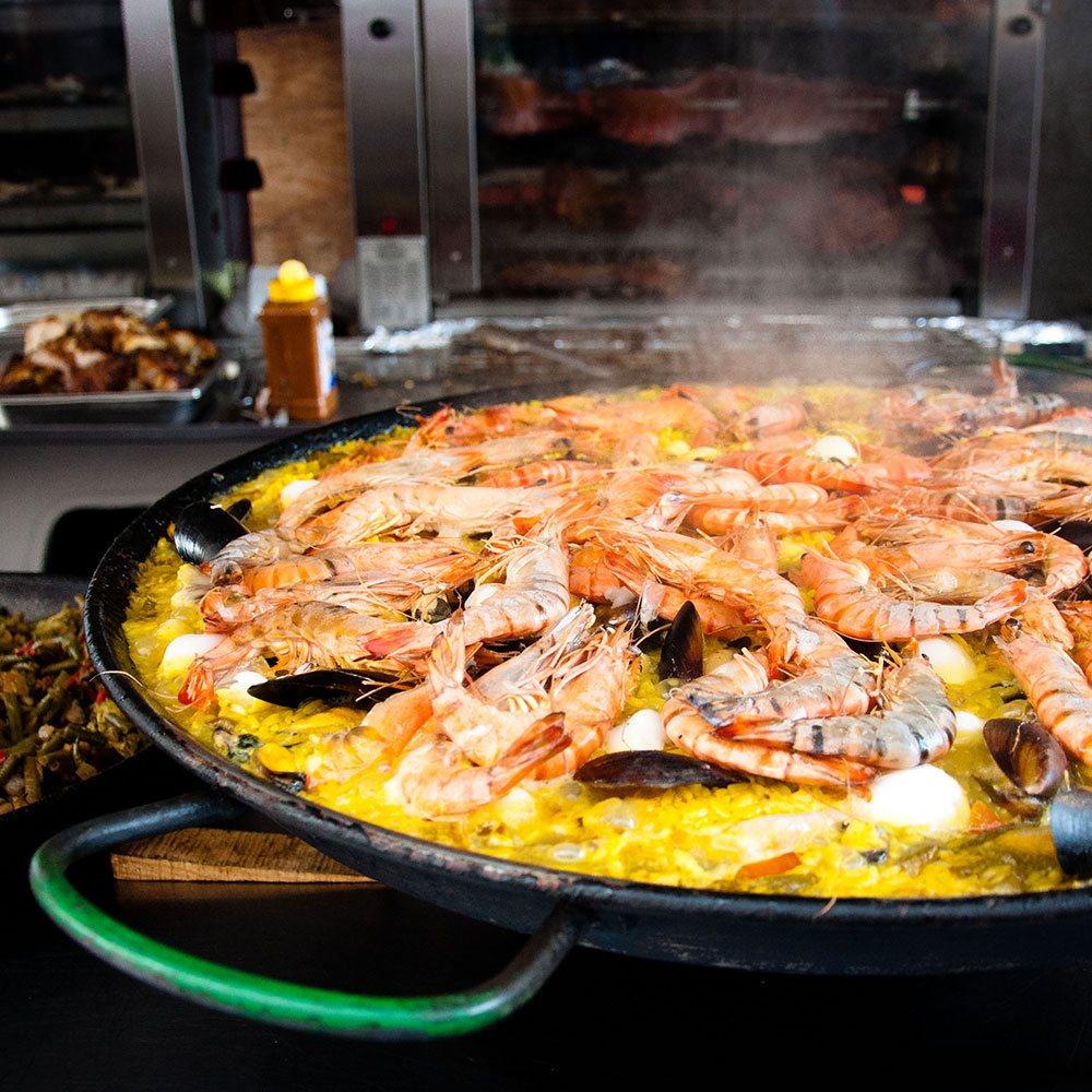 Paella Di Pesce Tom Press