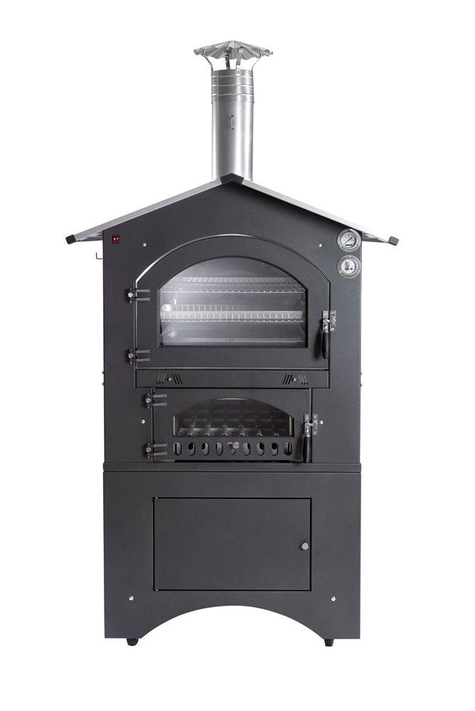 Forno a legna da esterno 80x65 cm - Tom Press