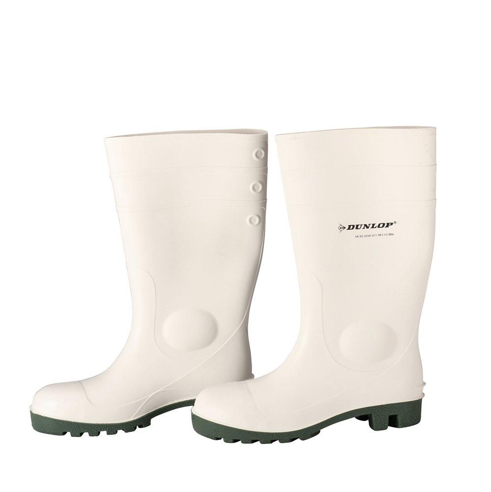 New York 5b823 d525f Stivali bianchi rinforzati tg.43 Dunlop - Tom Press